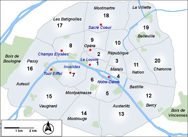 パリ市街図