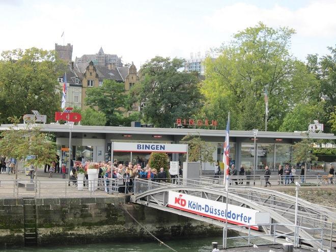 ビンゲン港