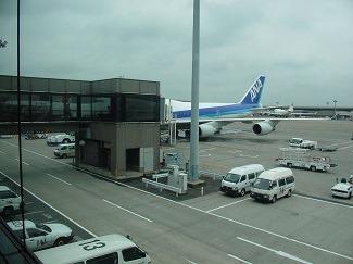成田空港にて2