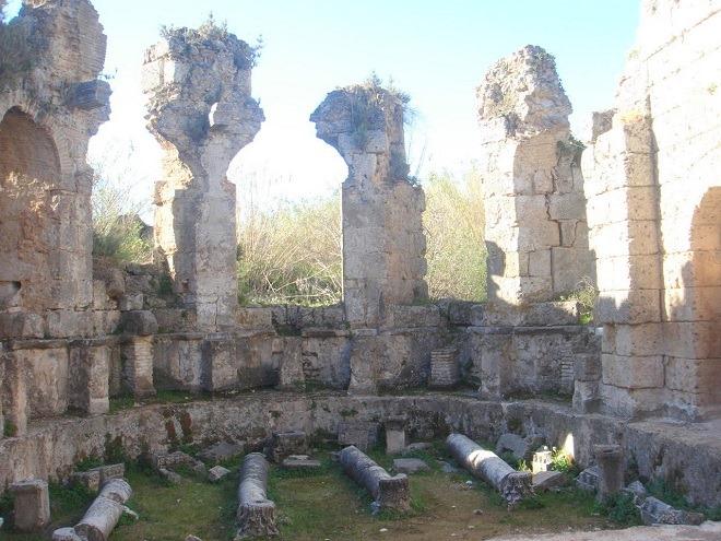 ローマ式浴場跡