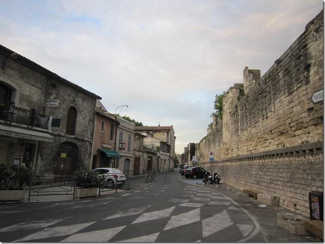 北西部城壁城内側