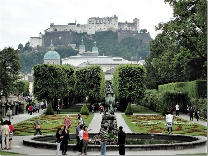 ミラベル庭園とザルツブルク城2