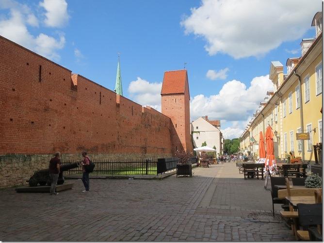 城壁とヤコブ兵舎