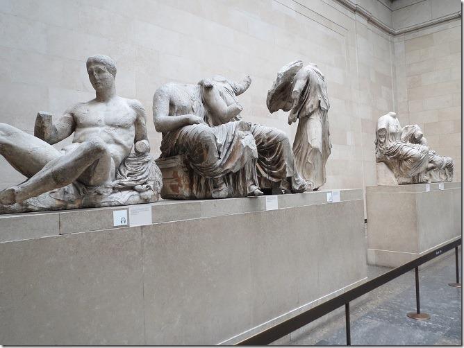 パルテノン神殿の彫刻:エルギン・マーブル