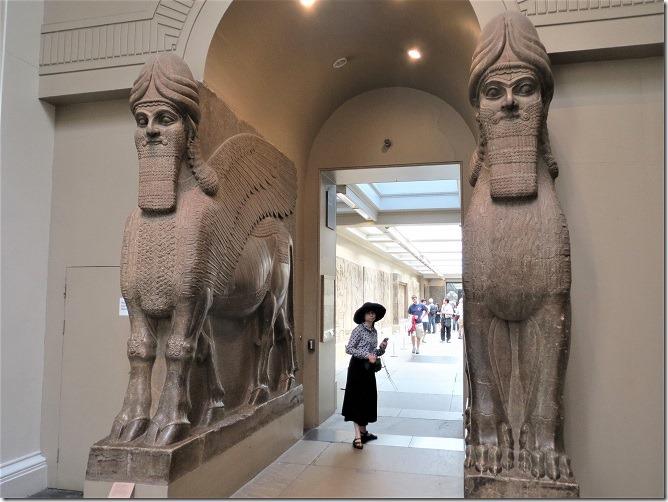 07アッシリアの守護獣神像