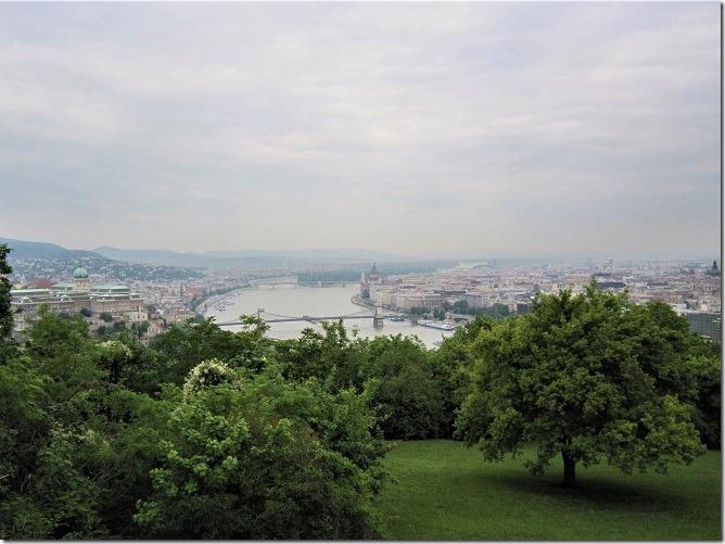 ゲレルトの丘からの眺望
