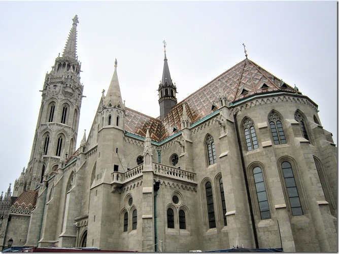 マーチャーシュ教会1
