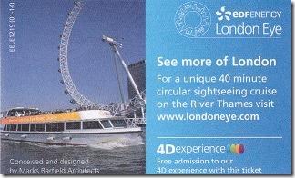 ロンドンアイ・チケット1
