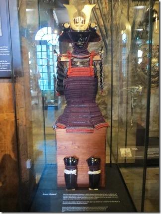 徳川秀忠から送られた鎧兜